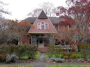North Wayne Historic District - Image: North Wayne PA HD Cozy Nook 210 Walnut