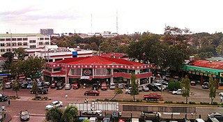 Metro Bacolod Metropolitan Area in Western Visayas, Philippines