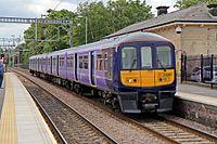 Northern Electrics Class 319, 319361, platform 1, Huyton railway station (geograph 4512019).jpg