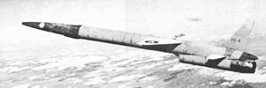 Northrop XQ-4 in flight.jpg
