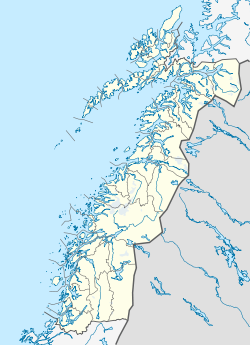 Oppeid is located in Nordland