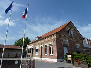 Nouvelle-Église - The town hall of Nouvelle-Église