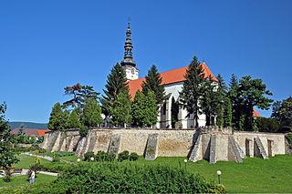 Nové Mesto nad Váhom Town in Slovakia