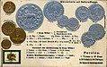 Numismatic postcard from the early 1900's - Persian Empire.jpg
