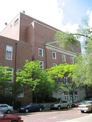 WOUB-TV - The Radio/Television Building at Ohio University, where WOUB is broadcast