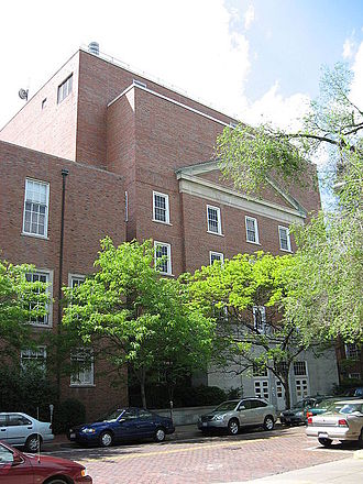 WOUB-FM - The Radio/Television Building at Ohio University, where WOUB is broadcast
