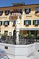 Oberdrauburg - Marktplatz - Brunnen.JPG