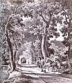 Oberneulander Landstraße, Bremen - Johann Georg Walte - 1850retouched.jpg