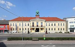 Oberwart Place in Burgenland, Austria