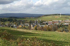 Oberweißbach - Panoramic view