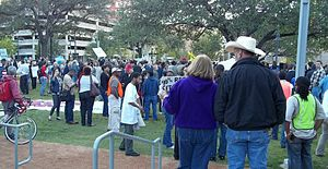Occupy Houston - Image: Occupy Houston