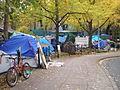 Occupy Portland November 9 sidewalk.jpg