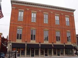 History of Covington, Kentucky - Restored, Odd Fellows Hall, on Madison Ave.