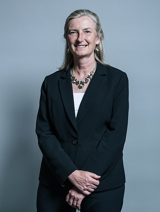 Official portrait of Dr Sarah Wollaston (cropped)