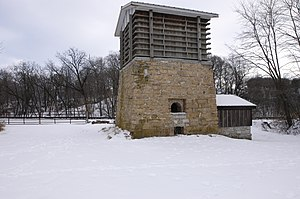 National Register of Historic Places listings in Ogle County, Illinois - Image: Ogle County Buffalo Grove Lime Kiln near Polo Il