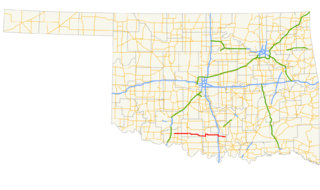 Oklahoma State Highway 53 highway in Oklahoma
