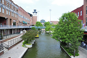 Bricktown, Oklahoma City - The Bricktown Canal