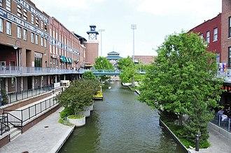 Bricktown, Oklahoma City - The Bricktown Canal