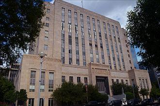 Oklahoma County, Oklahoma - Image: Oklahoma City OK Oklahoma County Courthouse (Taken 20120926)