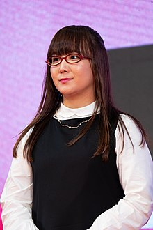 "Oku Hanako from ""He Won't Kill, She Won't Die"" at Opening Ceremony of the Tokyo International Film Festival 2019 (49013880287).jpg"