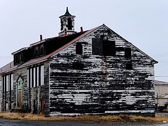 National Register of Historic Places listings in Nome Census Area, Alaska - Image: Old BIA School Unalakleet (10313172756)