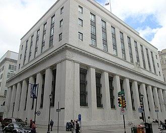 Old Federal Reserve Bank Building (Philadelphia) - Image: Old Federal Reserve Bank Building