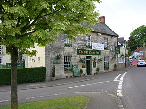 Aller, Somerset - Image: Old Pound Inn, Aller, Somerset