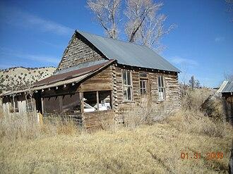 Strawberry, Utah - Riverside School, Main part built in 1912
