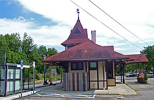 Tuxedo (Metro-North station) - The station building, originally constructed in 1885.
