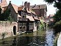 Old house near the river in Brugge, Belgium.jpg
