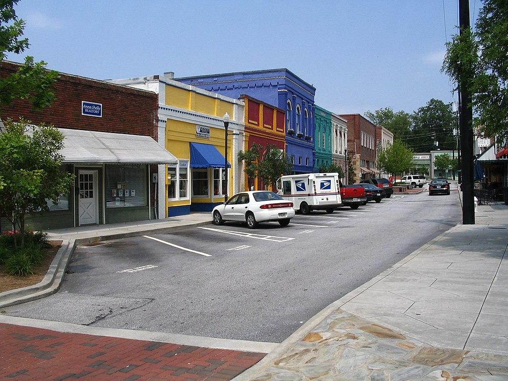 The population density of Conyers in Georgia is 456.48 people per square kilometer (1182.44 / sq mi)