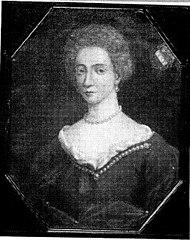 Margaretha Elisabeth van Oer. Echtgenote van Hendrik Willem van Westerholt