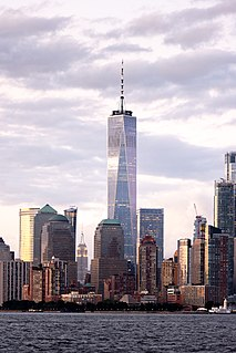 One World Trade Center Main building of the rebuilt World Trade Center complex in Lower Manhattan, New York City