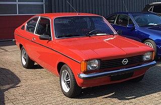 Opel Kadett C Motor vehicle