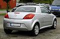 Opel Tigra TwinTop – Heckansicht, 14. August 2011, Heiligenhaus.jpg
