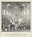 Opening van de Nationale Synode te Dordrecht, 1618 Vergadering der Nationale Sijnode, te Dordrecht gehouden in de jaren 1618 en 1619 (titel op object), RP-P-1911-661.jpg
