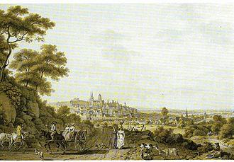 Oppenheim - Oppenheim about 1800