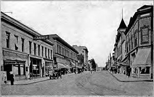 Oregon City, Oregon - Main Street, circa 1920