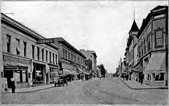 Oregon City, Oregon - Main Street, circa 1920