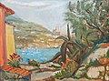 Oreste Carpi, Veduta dal castello di San Terenzo.jpg
