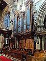 Organ case by John Oldrid Scott in Selby Abbey.jpg