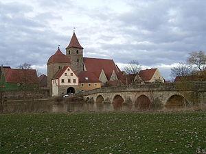 Ornbau - Ornbau with Altmühlbrücke