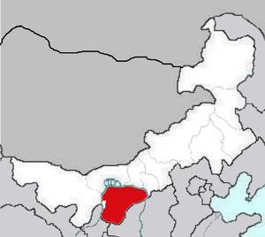 Ordos Desert - The region of Ordos.