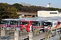 Osaka Monorail with Bampaku Park in background (3314626381).jpg