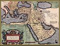 Outline of the Ottoman Empire from the Theatro d'el Orbe de la Tierra de Abraham Ortellius Anvers 1602 updated from 1570 edition.jpg
