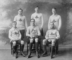 Oxford Canadians - Image: Oxford Canadian Ice Hockey Team