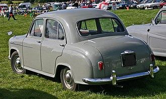 Morris Oxford Series II - Image: Oxford Series II rear