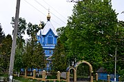 Ozero Kivertsivskyi Volynska-Church of the Protection of the Theotokos-north-west view-1.jpg