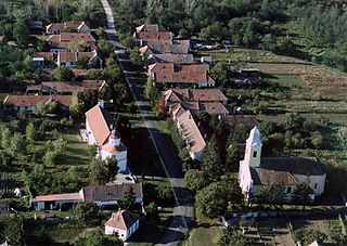 Pápoc Place in Western Transdanubia, Hungary