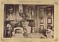 Pétervására, Gróf Keglevich Gyula kastélyának dolgozószobája. A felvétel 1895-1899 között készült. - Fortepan 83356.jpg